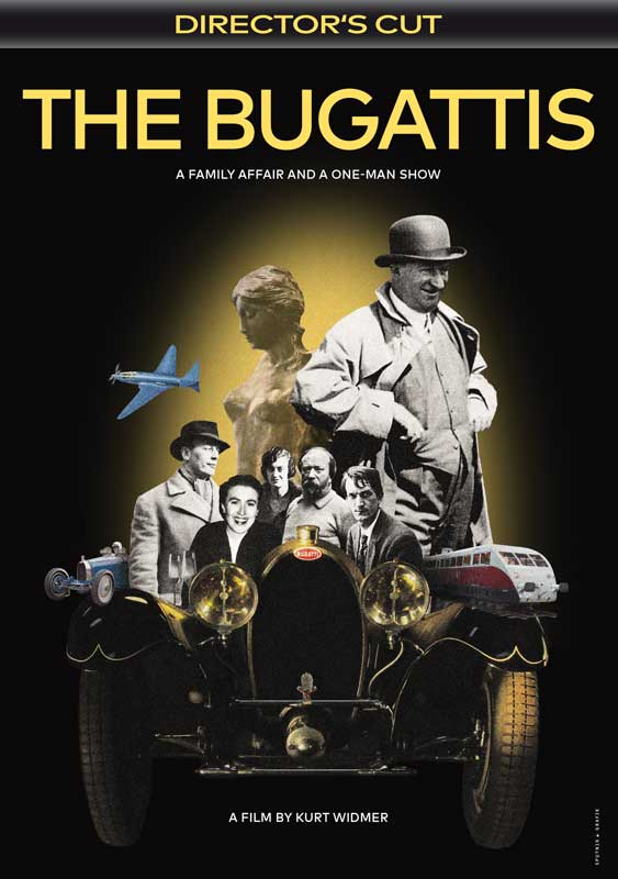 The Bugattis - DVD Cover